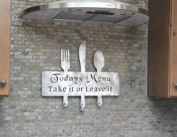 Metal Wall Decor For Kitchen Kitchen Decor Ideas Kitchen Decorations Kitchen Decor Themes