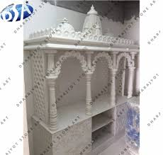 Stone Mandir Design White Marble Temple Pooja Mandir For Home Buy Pooja Mandir For Sale Indian Mandir For Home Mandir Design For Home Product On Alibaba Com