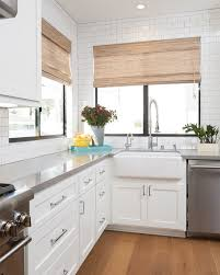 modern new construction beach house ideas home bunch interior white shaker kitchen cabinets with quartz countertops
