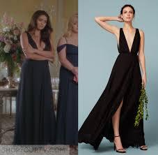 pretty little liars season 7 20 emily s black maxi dress