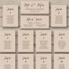 Wedding Seating Chart Template Word Wedding Seating Chart Template Printable Seating Chart