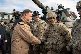 More Us Troops Bound For Poland Defense Minister Says