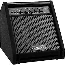 simmons amp. simmons da50 electronic drum set monitor amp m