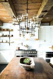 kitchen chandelier farmhouse kitchen with rustic decor sputnik chandelier ford kitchen island chandelier height