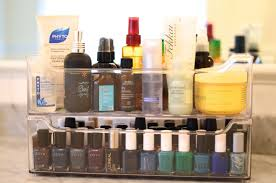 How to Organize Beauty Products: Storage for Hair Products and Makeup |  Glamour