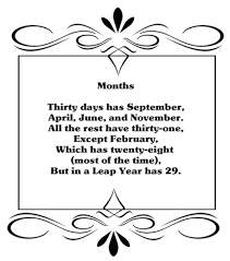 i am sitting here with coffee cup in hand thinking wow it s september and i can t help but think of the poem many use to remember just how many days each