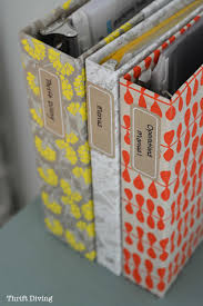 how to cover ugly ring binders with pretty paper diy notebooks