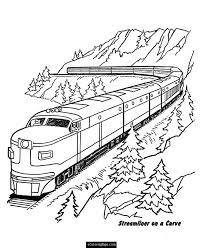 Small Picture Free Printable Train Coloring Pages For Kids spesific Train