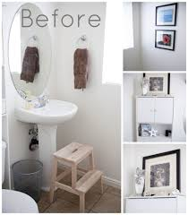 decorating bathroom walls