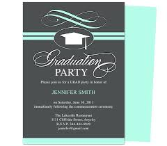 Best Of Graduation Party Invitation Template For Printable