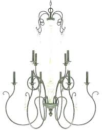 candle chandelier home depot kronos 10 light polished chrome with black