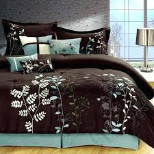 teal and brown comforter teal bedding sets queen image of brown comforter sets queen size teal