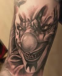 21 Serious Jokertattoos Tattoos Tattoos Clown Tattoo Und Tattoo