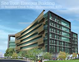 green office building. Site Tour - Energex Newstead Riverpark Green Office Building R