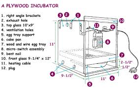 building an incubator incubation and embryology university of Egg Incubator Wiring Diagram you may construct the incubator according to the size desired it can be a small one for only a few eggs, or it can be a somewhat larger one to hold several Homemade Chicken Egg Incubator Plans