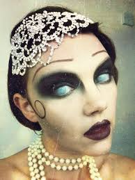 flapper makeup tutorial great gatsby zombie makeup watch the tutorial on my you channel