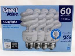 Great Value Cfl Light Bulbs Upc 078742019963 Great Value Light Bulb 14 60w Equivalent