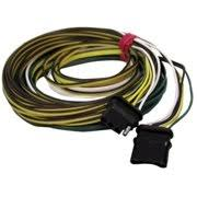 trailer wiring peterson manufacturing v5425y 4 way trailer wiring harness for pm544 25ft