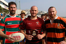 Stuart and Arunta forge friendships over Rugby in South Korea | Navy Daily