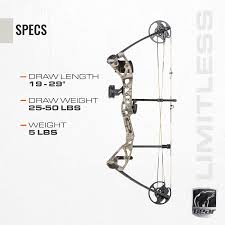 Amazon Com Bear Archery Limitless Dual Cam Compound Bow