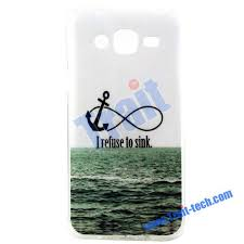 Samsung Quote Mesmerizing Colored Drawing IMD Craft Soft TPU Case For Samsung Galaxy J48