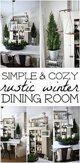 Simply Cozy Winter Dining Room - Liz Marie Blog