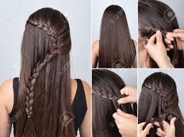La Coiffure Tresse Cascade Tutoriel De Cheveux Coiffure Pour