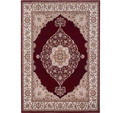 bazaar emy hd2587 red ivory 5 ft x 7 ft area rug