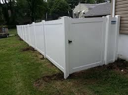 black vinyl privacy fence. Vinyl Privacy Fence Black S