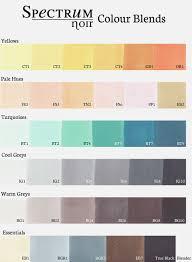 Spectrum Noir Color Chart By Happy Unique Spectrum Noir Chart