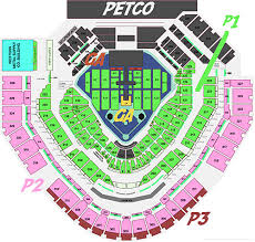 Petco Park Detailed Seating Chart Petco Park Seating Chart With Seat Numbers Petco Stadium