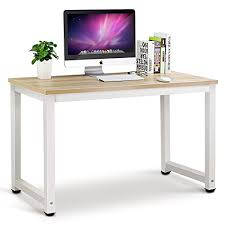 best desktop for home office. Tribesigns Modern Simple Style Computer Desk PC Laptop Study Table Workstation For Home Office Best Desktop