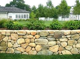 Backyard Retaining Wall Designs Interesting Retaining Wall Prices Stuhicks
