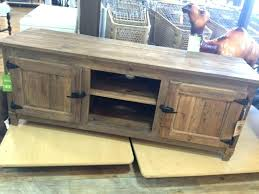 Rustic Wood Entertainment Centers Stand Wall Units  Center Piece52