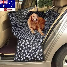 waterproof car pet seat cover dog cushion rear back seat protector hammock mat