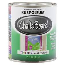 clear tintable chalkboard paint