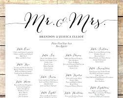 Wedding Alphabetical Seating Chart Wedding Seating Chart Board Template Jasonkellyphoto Co