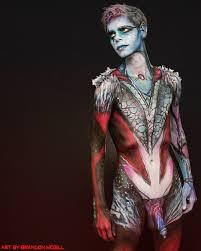 "Seeking Adonis op Twitter: ""Brandon McGill - Body Painter… """