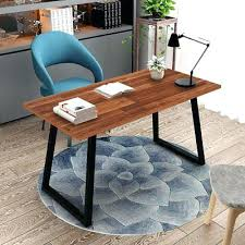 tables for home office. Solid Wood Computer Desk Rustic Vintage Home Office Table Workstation Tables For