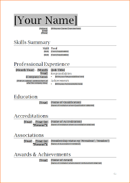 6 How To Write A Professional Resume Bibliography Format