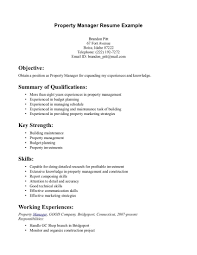Cover Letter Sample Property Manager Resume Inspirational Munication
