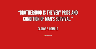Brotherhood Quote