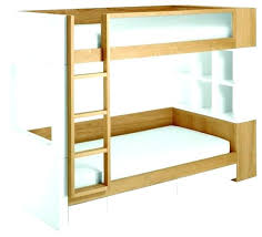 kids furniture modern. Contemporary Bunk Beds Modern White And Brown Color For Kids Furniture