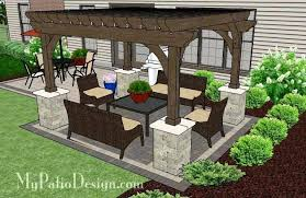 delightful charming patio layouts and designs patio layout ideas designs with pergola simple and affordable brick