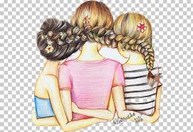 best friends forever drawing friendship