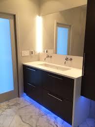 contemporary bathroom lighting ideas. Led Under Cabinet Lighting For Contemporary Bathroom Image 8 Of 19 Ideas