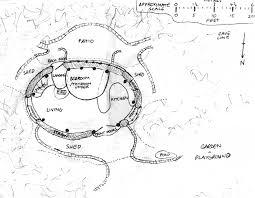 Plans for Dale's Hobbit home (Image: Simon Dale)