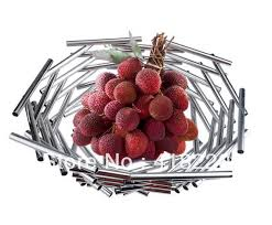 Decorated Fruit Trays Bird nest shape fruit dish fruit tray home decorationin Storage 80