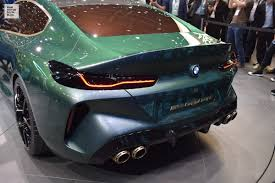 BMW Concept M8 Gran Coupé. First live photos from the press ...