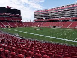 Levis Stadium Section 109 Seat Views Seatgeek